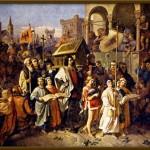 Břetislav I. přenáší ostatky sv. Vojtěcha