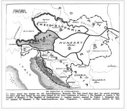 Hranice nástupnických států Rakouska-Uherska